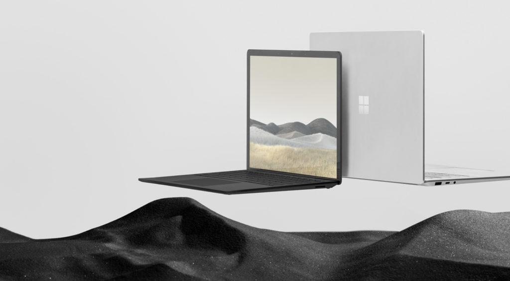 Microsoft Surface laptop-computer-notebook-surface mit Netzleiter